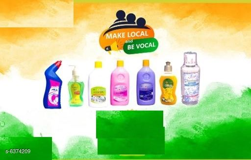 Cleaners & disinfectants Latest Cleaners Combo   *Product Name* Latest Cleaners Combo Of Mr. X Toilet Cleaner, Floor Cleaner, Kitchen Star Dish Wash Gel , Hand Sanitizer, Wellhand Hand Wash  *Product Type* Cleaners  *Capacity*   *Toilet Cleaner* 500 ml  *Floor Cleaner Lavender+1 Orchid+1 Jasmine) * 500 ml Each  *Dishwash Gel* 250 ml  *Wellhand Instant Hand Sanitizer* 100 ml  *Wellhand Hand Wash * 250 ml  *Pack* Pack Of 7  *Sizes Available* Free Size *    Catalog Name: Latest Cleaners Combo CatalogID_1013476 C141-SC1711 Code: 136-6374209-
