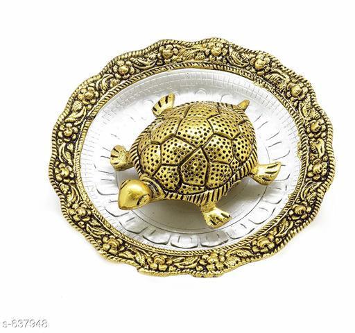Alluring Antique Tortoise Plate