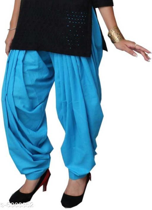 Modern Women Patialas Salwar