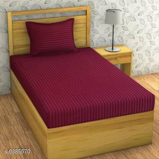Stylish 90 X 60 Single Bedsheet