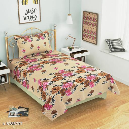Trendy Cotton 60 X 90   Single Bedsheets