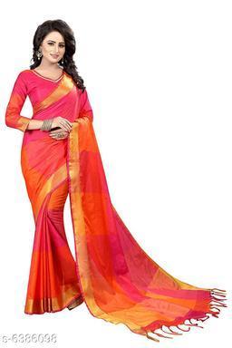 Beautiful Cotton Silk Women's Saree