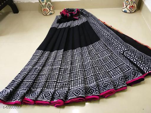 Trendy Pure Cotton Mulmul Women's Saree