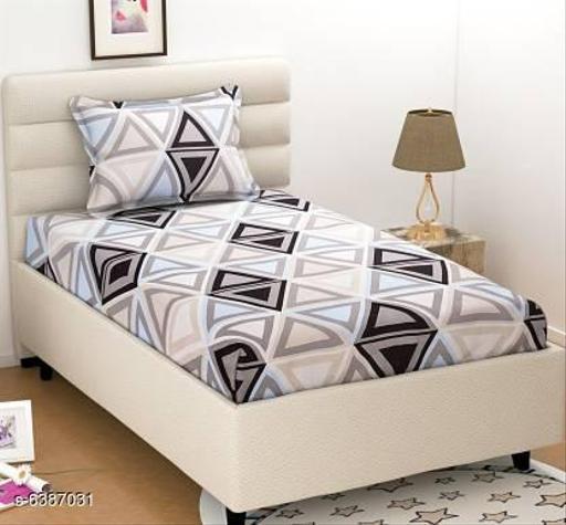 Trendy Cotton 90 X 60 Single Bedsheets