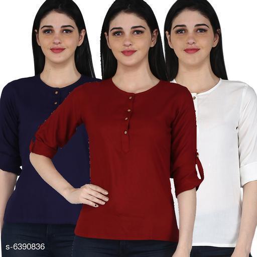 Women's Rayon Combo Tops