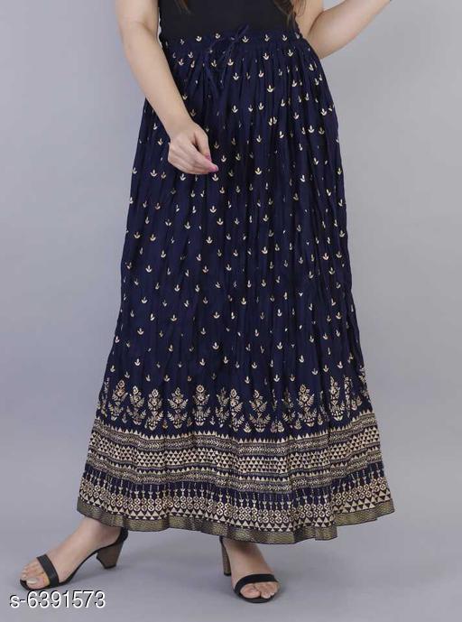 Stylish Rayon Skirt