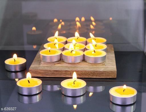 Stylish Tea Light Candles (Set Of 30)