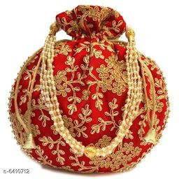 Trendy Women's Red Pouches