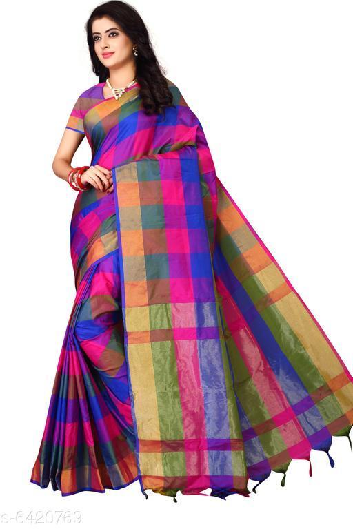 Colorful Art Silk Saree