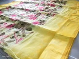Adorable Women Linen Sarees