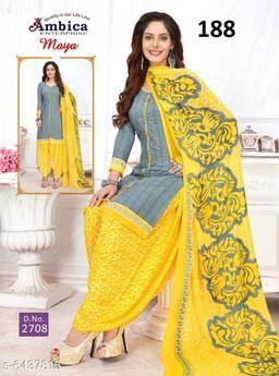 Fashion Crepe Suits & Dress Materials