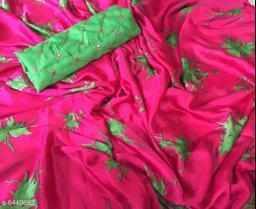 Samaira Printed Chiffon Sarees with Floral Pattern