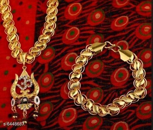 Trendy Men's  _Pendle with Chain