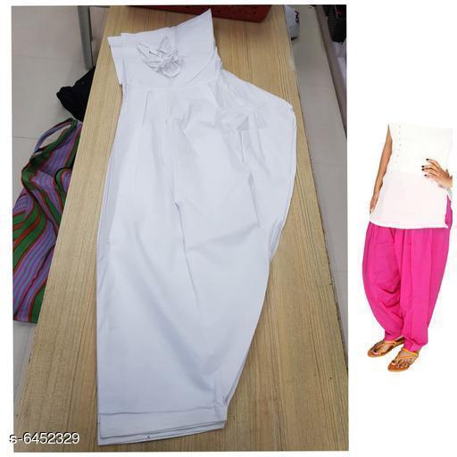 Modern Women 100% Cotton Patialas Salwar