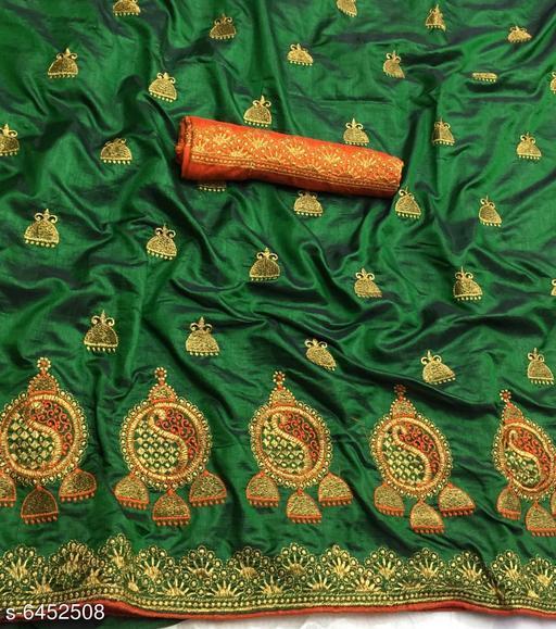 Embroidered Sana Sana Silk Sarees