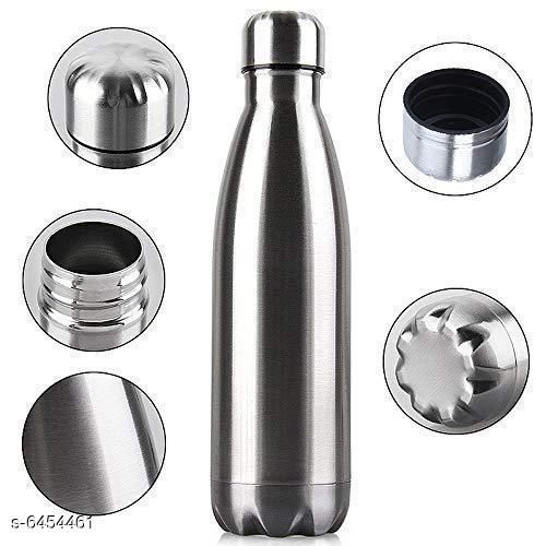 Water Bottles Stylish Water Bottle Material: Stainless Steel Pack: Pack of 1 Size (in ltrs): 1000 mL Size: Free Size Country of Origin: India Sizes Available: XXS, XS, S, M, L, XL, XXL, XXXL, 4XL, 5XL, 6XL, 7XL, 8XL, 9XL, 10XL, Free Size *Proof of Safe Delivery! Click to know on Safety Standards of Delivery Partners- https://ltl.sh/y_nZrAV3  Catalog Rating: ★3.5 (259)  Catalog Name: Stylish Water Bottle CatalogID_1027169 C130-SC1644 Code: 934-6454461-