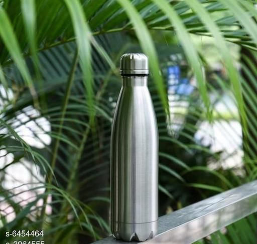 Water Bottles Stylish Water Bottle Material: Stainless Steel Pack: Pack of 1 Size (in ltrs): 1000 mL Size: Free Size Country of Origin: India Sizes Available: XXS, XS, S, M, L, XL, XXL, XXXL, 4XL, 5XL, 6XL, 7XL, 8XL, 9XL, 10XL, Free Size *Proof of Safe Delivery! Click to know on Safety Standards of Delivery Partners- https://ltl.sh/y_nZrAV3  Catalog Rating: ★3.5 (259)  Catalog Name: Stylish Water Bottle CatalogID_1027169 C130-SC1644 Code: 934-6454464-