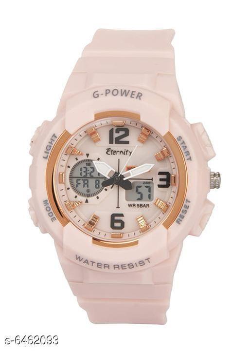 Eternity Pink Dual Time Women's Sports Watch