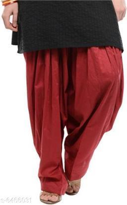 Stylish Wome's Patiala Pant