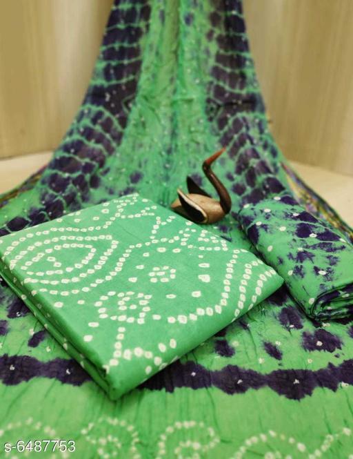 Amazing New Bandhej Dress Materials
