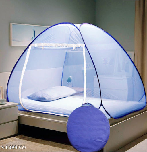 Single Bed  Polyester Foldable Mosquito Nets