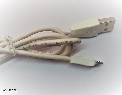 Cables Fastest USB Data Cable  *Product Name* Fastest USB Data Cable  *Material* Copper  *Type* Data Cable  *Color* Blue  *Length* 1 m  *Connector One* USB  *Output* 2.4A  *Multipack* 1  *Description* U love Company Data Cable The Best Quality 2.0 Data Cable  *Sizes Available* Free Size *    Catalog Name: Fastest USB Data Cable CatalogID_1034187 C99-SC1379 Code: 341-6492852-