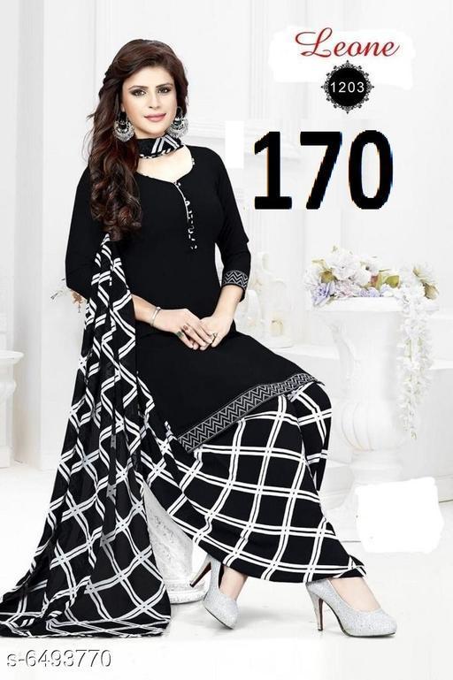 Keshvi Fashion Crepe Suits & Dress Materials