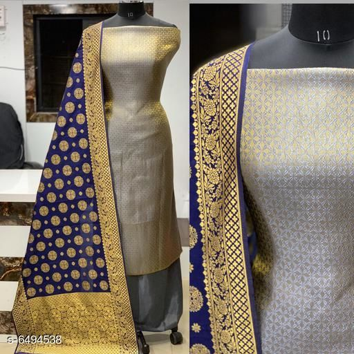 Trendy Banarasi Jacqurd Nylon Suits