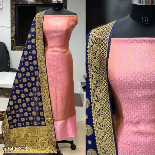 Alluring Banarasi Jacqurd Nylon Suits & Dress Materials