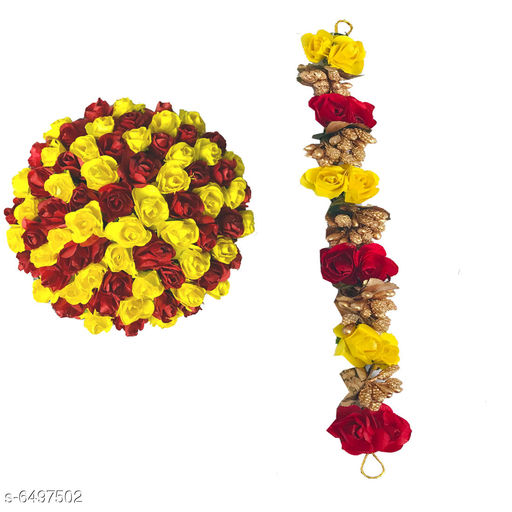 Hair Accessories  Bun Juda Maker Flower Gajra Hair Accessories For Women and Girls Multicolor(Pack-02) Material: Paper Flower  Multipack: 2 Sizes:  Free Size Sizes Available: Free Size    Catalog Name: Feminine Fusion Women Hair Accessories CatalogID_1034940 C72-SC1088 Code: 743-6497502-