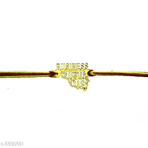 Rakhi Fancy Rakhi  *Material* Acrylic  *Multipack* 1  *Sizes* Free Size  *Sizes Available* Free Size *    Catalog Name: Fancy Rakhi CatalogID_1035408 C77-SC1266 Code: 042-6500591-