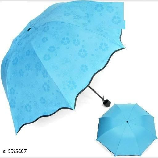 Umbrellas Stylish Umbrellas  *Material* Polyester  *Pattern* Printed  *Multipack* 1 Pair  *Sizes* Free Size  *Sizes Available* Free Size *    Catalog Name: Stylish Umbrellas CatalogID_1037628 C72-SC1090 Code: 815-6512667-