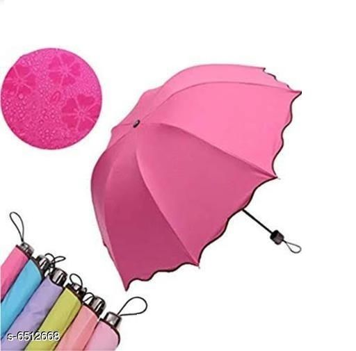 Umbrellas Stylish Umbrellas  *Material* Polyester  *Pattern* Printed  *Multipack* 1 Pair  *Sizes* Free Size  *Sizes Available* Free Size *    Catalog Name: Stylish Umbrellas CatalogID_1037628 C72-SC1090 Code: 815-6512668-