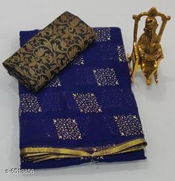 Trendy Pure Chiffon Saree