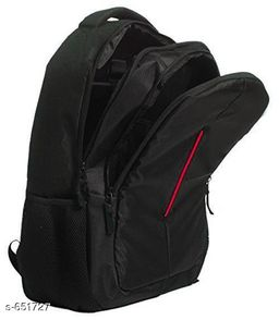 Classy Men's Black Bags & Backpacks