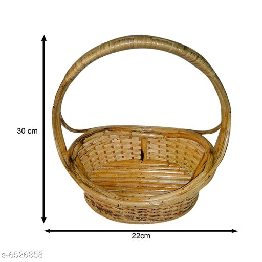 Others Elegant Wooden Fruits Basket  *Material* Wooden  *pack* Pack of 1  *length* 30 cm  *breadth* 22 cm  *Sizes Available* Free Size *    Catalog Name: Trendy Wooden Fruits Basket CatalogID_1039853 C50-SC1298 Code: 367-6526858-