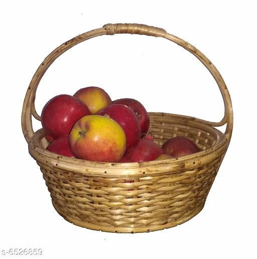 Others Elegant Wooden Fruits Basket  *Material* Wooden  *pack* Pack of 1  *length* 30 cm  *breadth* 22 cm  *Sizes Available* Free Size *    Catalog Name: Trendy Wooden Fruits Basket CatalogID_1039853 C50-SC1298 Code: 367-6526859-