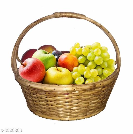 Others Elegant Wooden Fruits Basket  *Material* Wooden  *pack* Pack of 1  *length* 30 cm  *breadth* 22 cm  *Sizes Available* Free Size *    Catalog Name: Trendy Wooden Fruits Basket CatalogID_1039853 C50-SC1298 Code: 367-6526860-