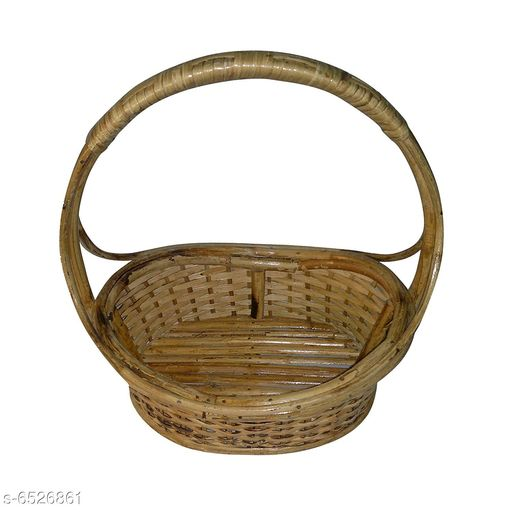 Others Elegant Wooden Fruits Basket  *Material* Wooden  *pack* Pack of 1  *length* 30 cm  *breadth* 22 cm  *Sizes Available* Free Size *    Catalog Name: Trendy Wooden Fruits Basket CatalogID_1039853 C50-SC1298 Code: 367-6526861-