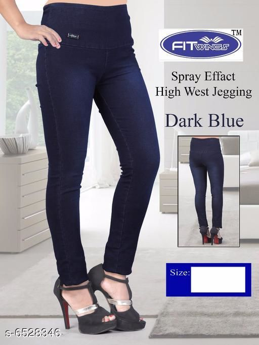 Elegant Fashionista Women Jeggings