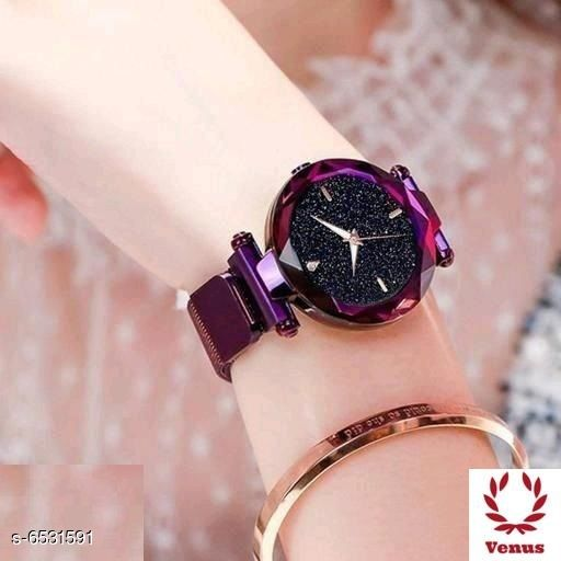 Watches  Classic Women Quartz Watches   *Strap Material* Metal  *Display Type* Analogue  *Size* Free Size  *Multipack* 1  *Sizes Available* Free Size *    Catalog Name:  Classic Women Quartz Watches  CatalogID_1040604 C72-SC1087 Code: 772-6531591-
