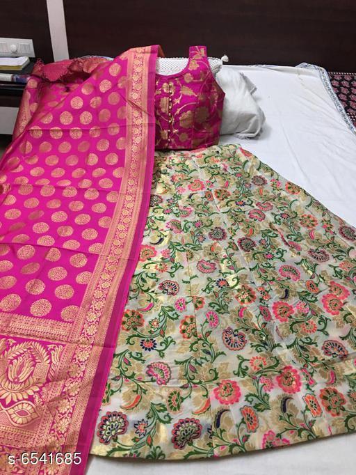 Beautiful Women's Banarasi Lehenga