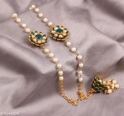 Anuttams jaipuri beaded work handmade rakhi pair/bhaiya bhabi rakhi
