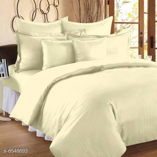 Stylish satin 100 X 108 Double Bedsheet