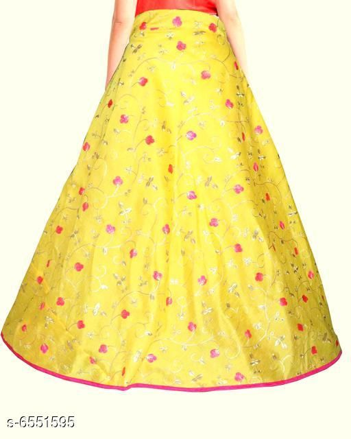 Navratri Special Long Embroidery Skirt