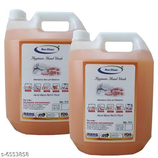 Nuo Clean Hygienic Hand wash - 2 x 5 Litres