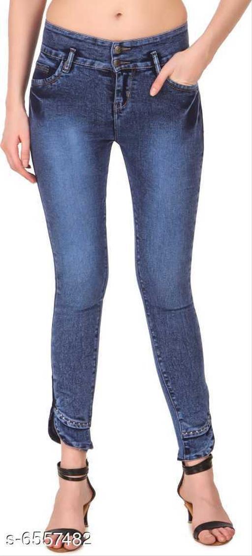 Latest Slim Denim Women's Jeans