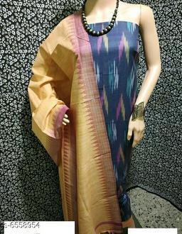 Attractive Khadi Cotton Suit