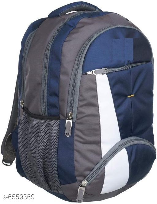 Elegant Polyester Men Backpacks