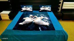 Latest Digital Printed 105 x 95 Double Bedsheet